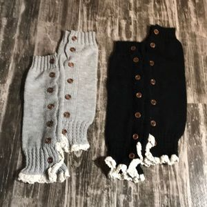 2 pairs Steve Madden Boot Covers